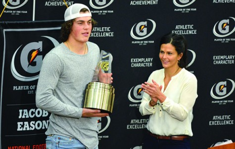 Eason named Gatorade National Football Player of the Year