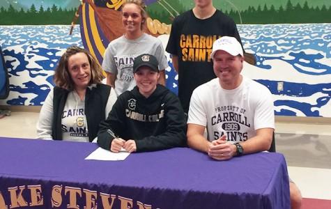 Carroll College hits a homerun signing Lillian Larsen