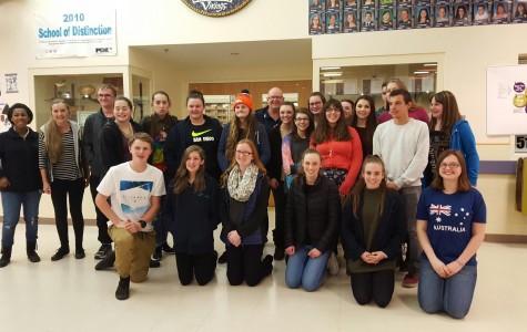 Australian Students visit LSHS