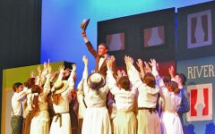 The Music Man marches by LSHS with splendor
