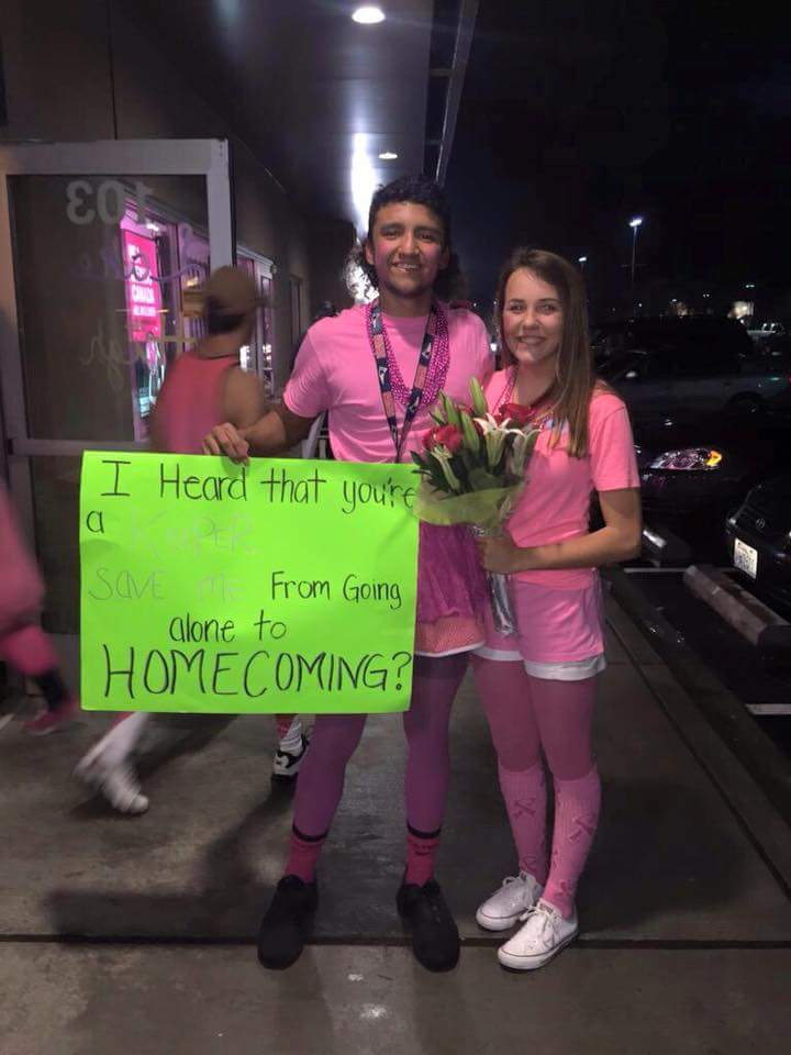 Creative Homecoming Proposals Surprise Students Valhalla