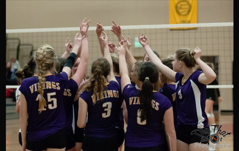 LSHS volleyball players fight for victory
