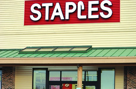 Staples will close mid-November
