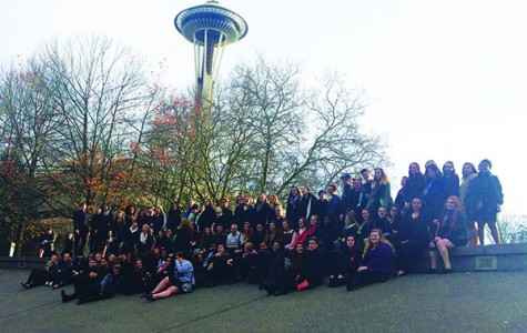 Choirs perform in Seattle