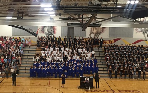 Lake Stevens School District choirs perform wonderfully at the All District Festival