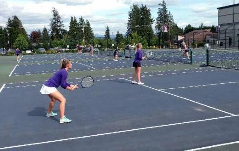 Girls tennis dominates, 10-1