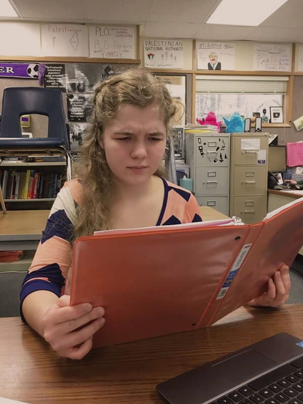 Mariyaa Litovchenko gets an early start in College. Running Start is a great opportunity and allows students to experience College education earlier.