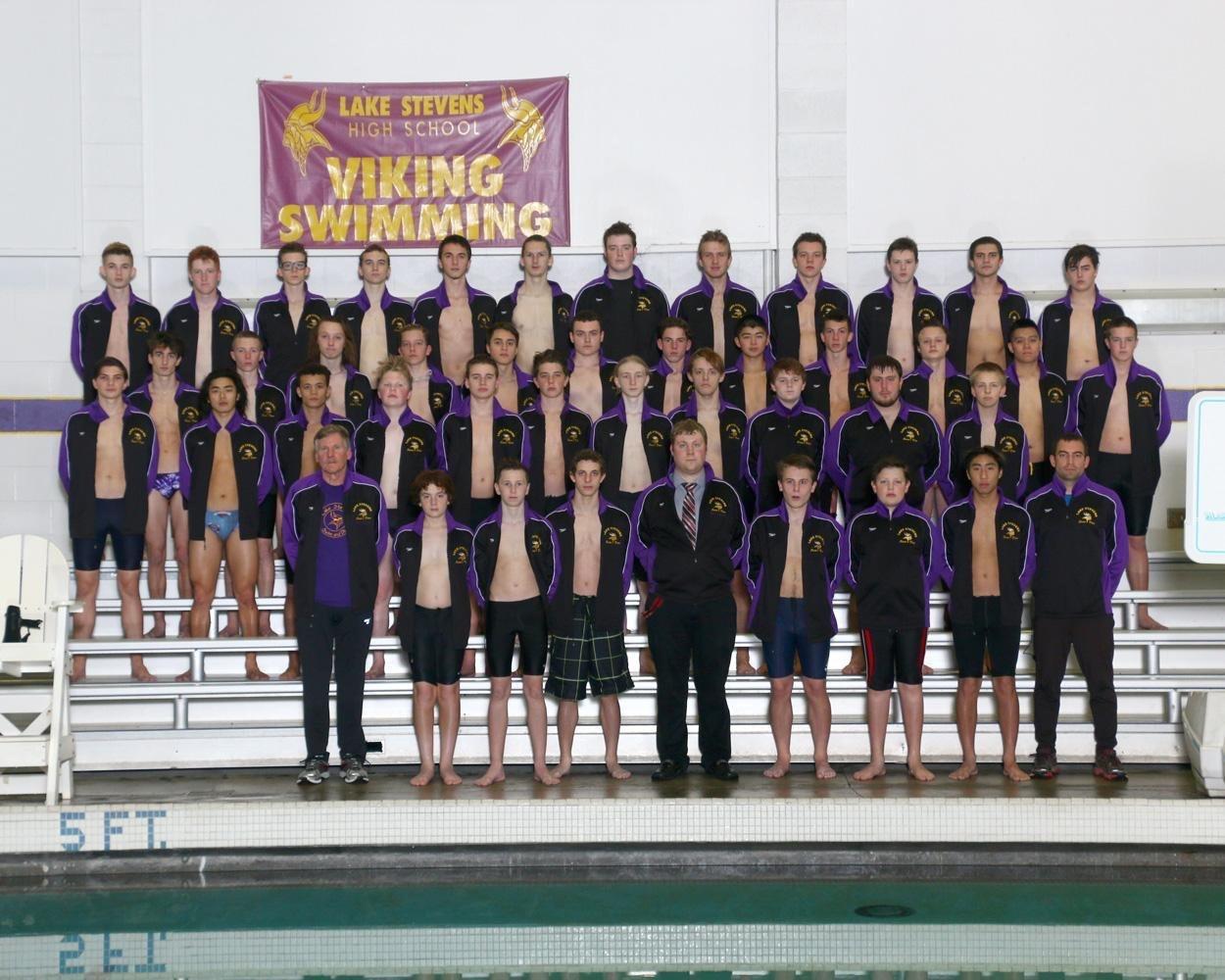 The 2017 Lake Stevens boys swim team.