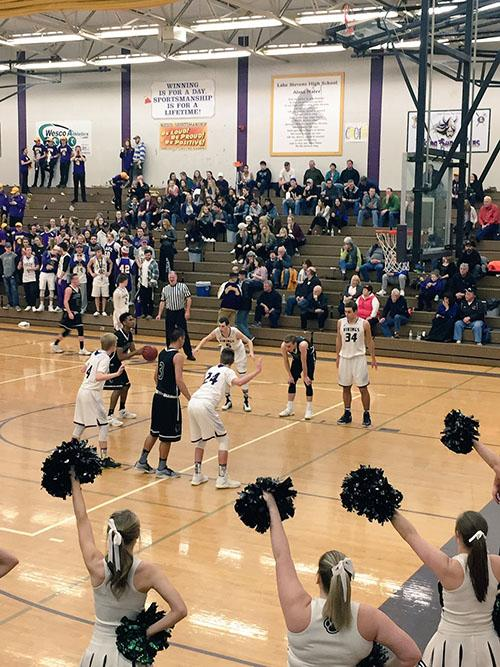 Varsity+boys+basketball+play+Jackson+in+playoffs.+At+the+end+of+the+third+quarter+Vikings+lead+50-34.+The+winning+score+was+65-44%2C+Vikings+with+the+win%21