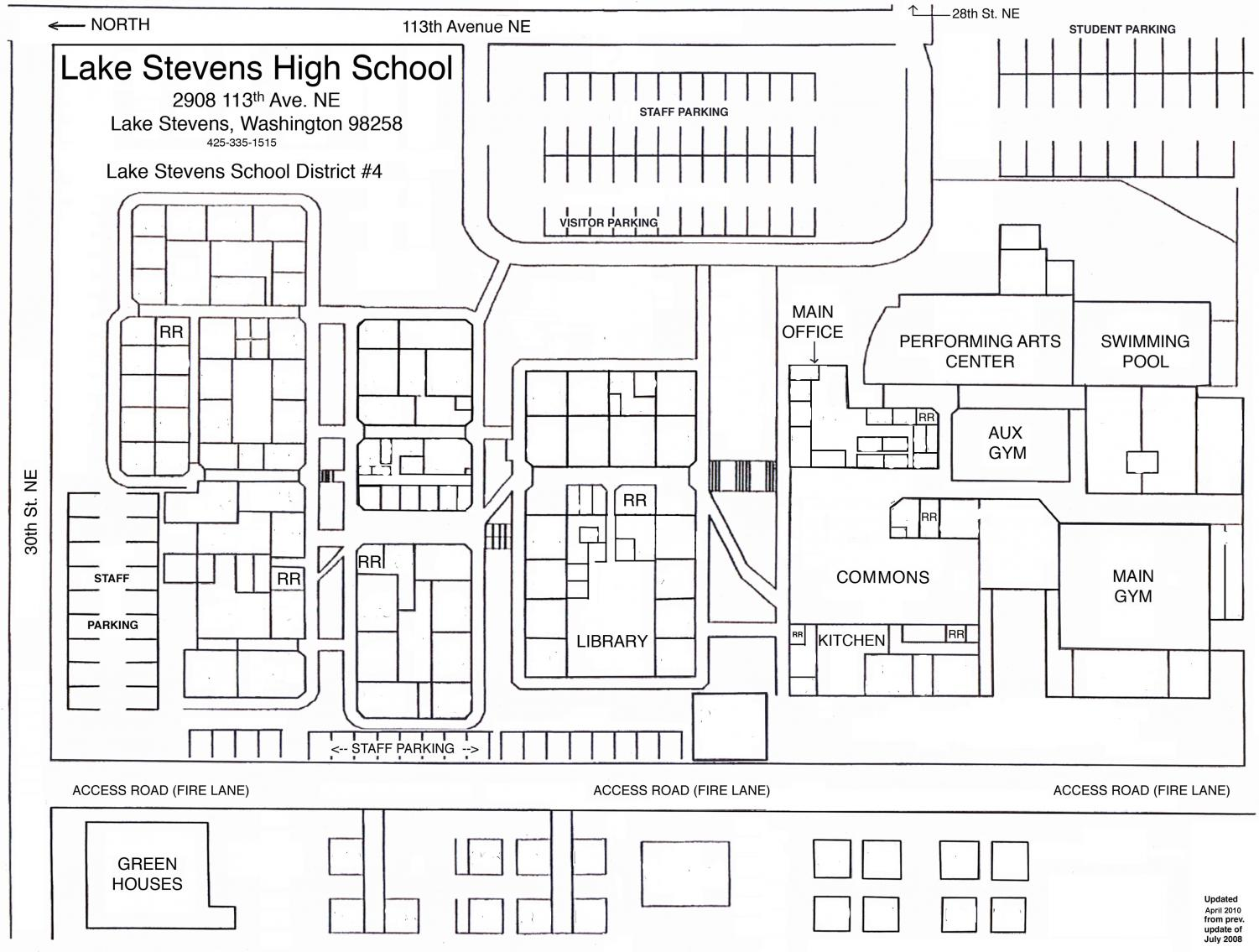 Before the overhaul: This is our school's layout as of today but once summer 2018 hits the school is going to undergo a drastic change.