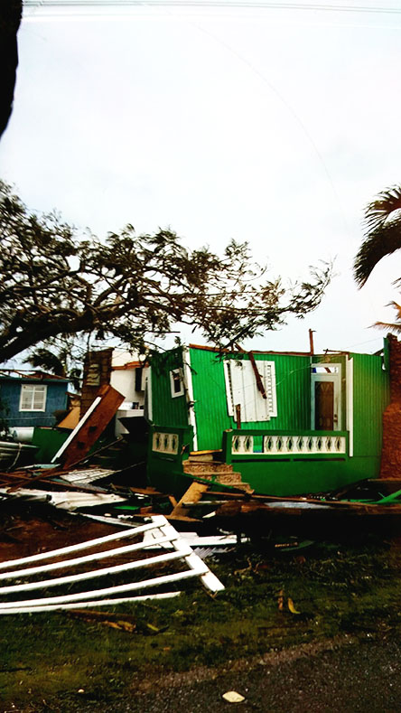"September 20th, Hurricane Maria hit Puerto Rico with a category 4 strength. A month after the hurricane they are still struggling to regain what Hurricane Maria destroyed. ""Yeah it was pretty crazy,"" states Kaya Barker."