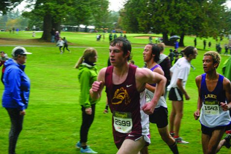 LSHS cross country sprints to the end of their season