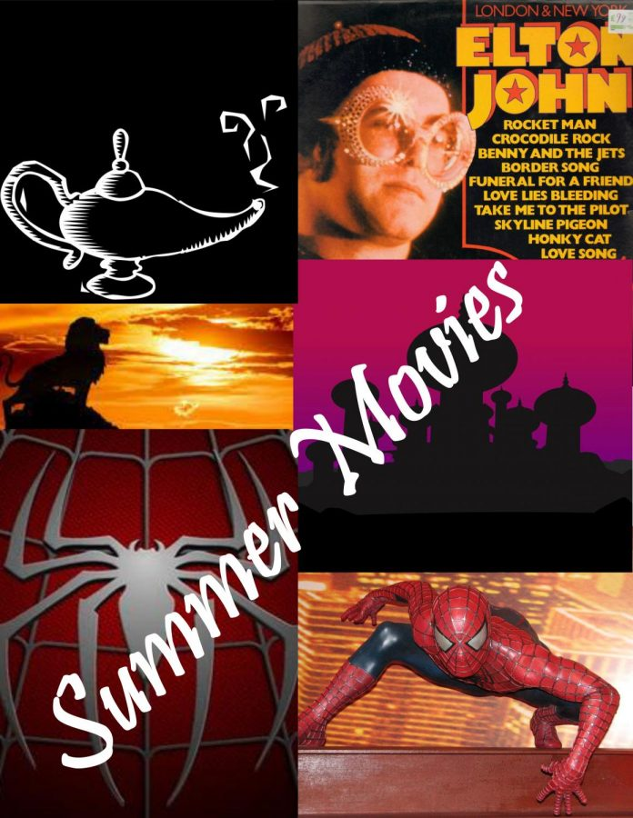 Many+movies+come+out+this+summer+apply+to+all+different+kinds+of+people+and+what+they+like+to+watch.+There+are+movies+like+Spider-Man%3A+Far+From+Home%2C+remakes+like+The+Lion+King+and+Aladdin+and+those+who+love+Elton+John%2C+Rocketman+also+comes+out+during+the+summer+of+2019.+%E2%80%9CI+love+watching+movies+in+the+theaters.+It%E2%80%99s+so+cool+to+see+all+the+people+that+like+the+same+movies+that+I+do%2C%E2%80%9D+junior+Malia+Velez+said.%0A