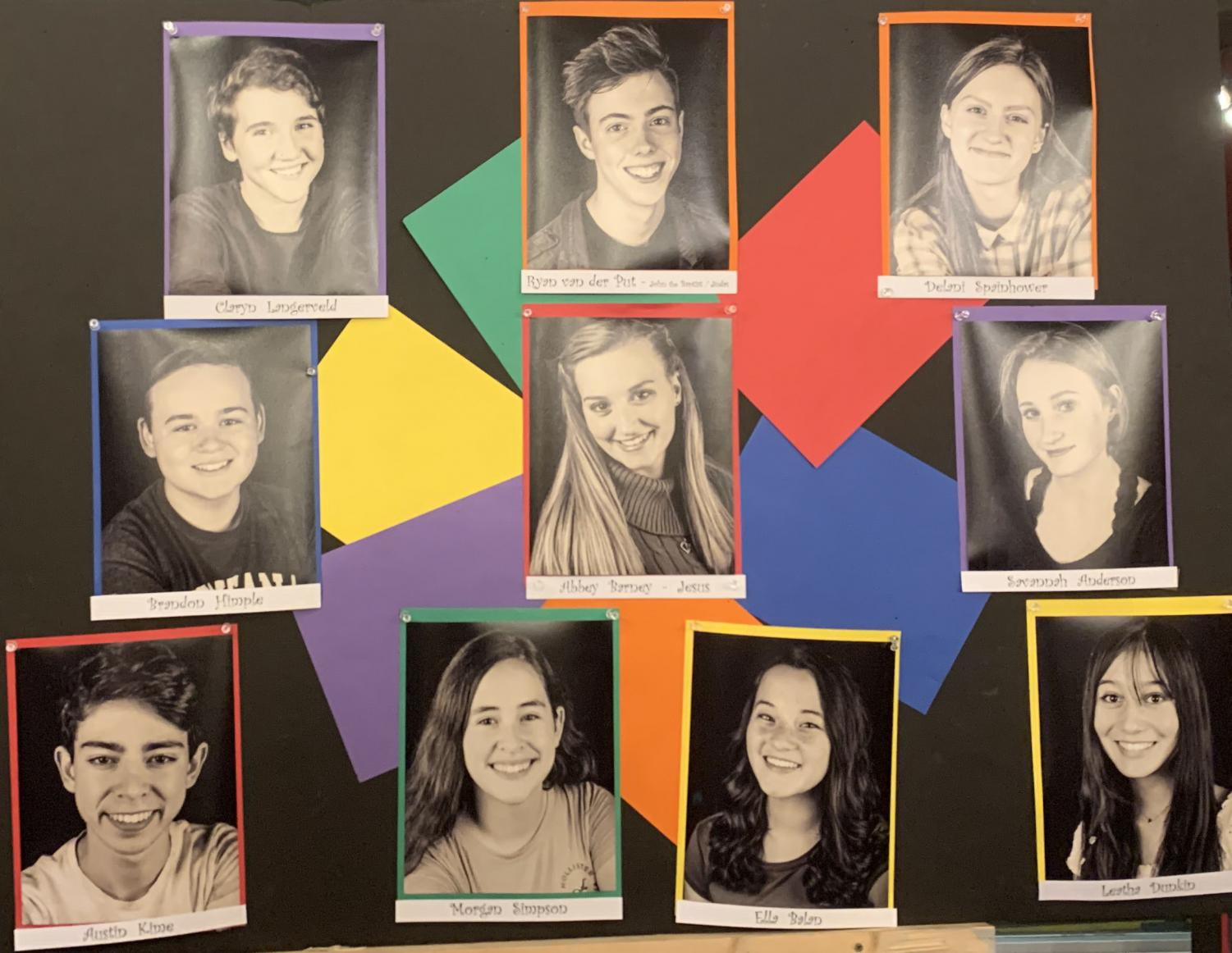 "Action! The play is open and these amazing actors are doing an amazing job in their performances: Claryn Langerveld, Brandon Himple, Austin Kime, Leatha Dunkin, Savannah Anderson, Abbey Barney, Morgan Simpson, Delani Spainhower, Ella Balan, Ryan Van Der Put. ""What an amazing musical!"" Elise Kyes said."