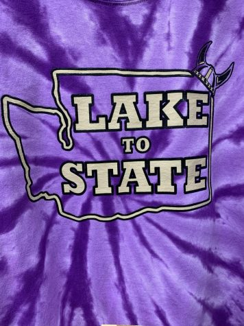 "Lake to State: Lake Stevens High School makes it to state with all of its fall sports teams. School Spirit is high, as ""Lake to State"" shirts were sold at The Cove to support their athletes at their state competitions. ""Just being able to send everybody to State, and you look at it in a way the Lake Stevens is on the front of newspapers all the time for sports and stuff like that, but it"