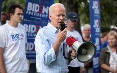 "Joe Biden speaks at a campaign event in Iowa, March 2019 (Pre-COVID-19). During the Primary Presidential election, in reference to the Crime Bill Biden said, ""I haven't always been right, I know we haven't always done things the right way. But I've always tried."