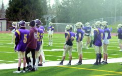 Fresh start: All players on the field or sidelines working hard to prepare for the season. Lake Stevens Vikings are eager start this season strong.