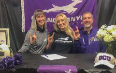 Lopes Up: Senior Samaya Morin signs to play beach volleyball at Grand Canyon University.