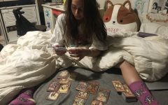 Spiritual Exploration: Junior Cecilia Valles learns how to give a tarot reading. Valles had always been interested in tarot reading, but felt that she wasn't allowed to learn due to the constant gatekeeping from the spiritual community.