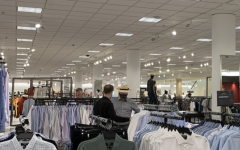 No masks? People shop at Nordstrom's without a mask. Only in the month of March, it would have been abnormal to see an individual in public without wearing a mask.